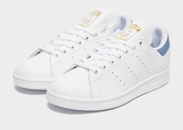 Stan Smith Hvid Rød Sneakers Adidas S75562 | DAME | ShoeChapter