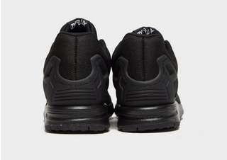 adidas Originals ZX Flux W Black White Tree Womens Running