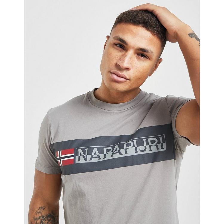 Napapijri Block Logo Short Sleeve T-Shirt