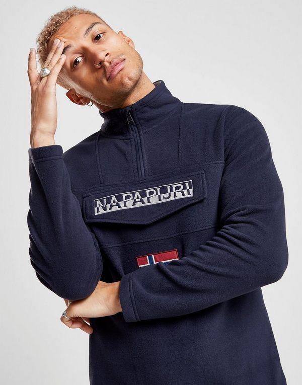 Napapijri Polar 1/4 Zip Fleece Sweatshirt