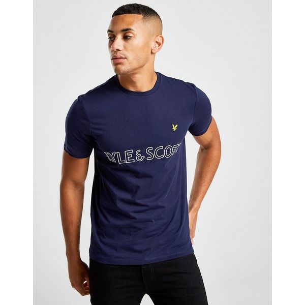 Lyle & Scott Linear T-Shirt