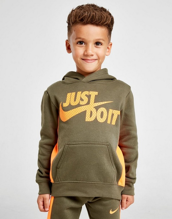 Nike Core Just Do It Over Head Tracksuit Children