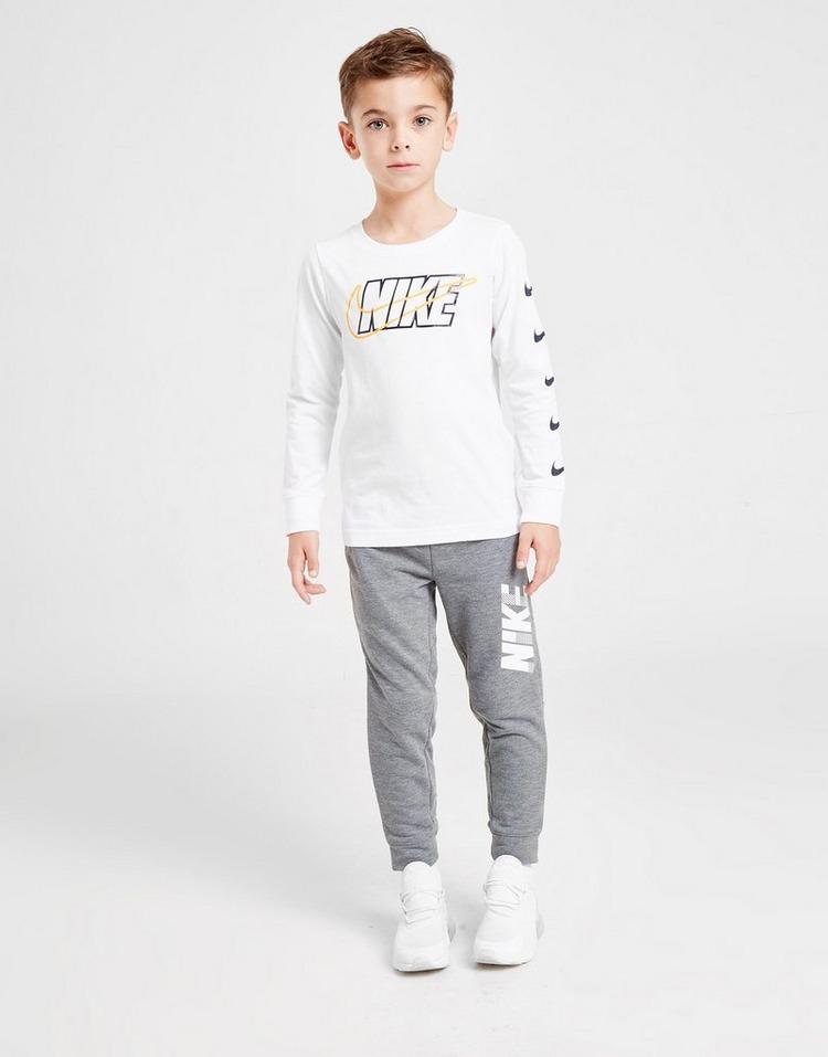 Nike Block Swoosh Long Sleeve T-Shirt Children
