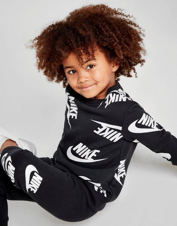 Acheter Black Nike Ensemble de Survêtement Imprimé Crew