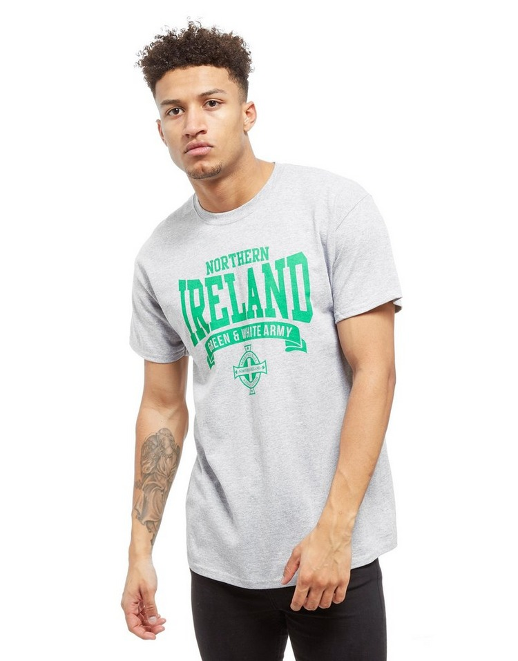 Official Team T-Shirt Northern Ireland Scroll