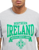 Official Team Northern Ireland Scroll T-Shirt