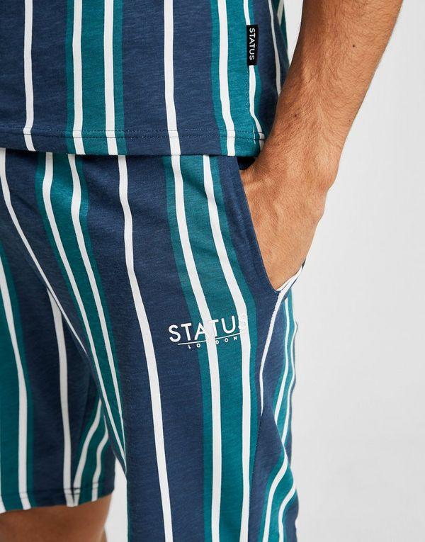 STATUS Court Stripe Shorts