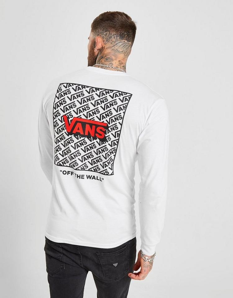 Vans Long Sleeve Repeat Logo T-Shirt