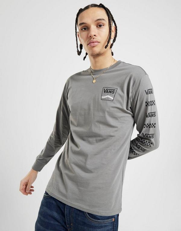 Vans Long Sleeve Repeat Check T-Shirt