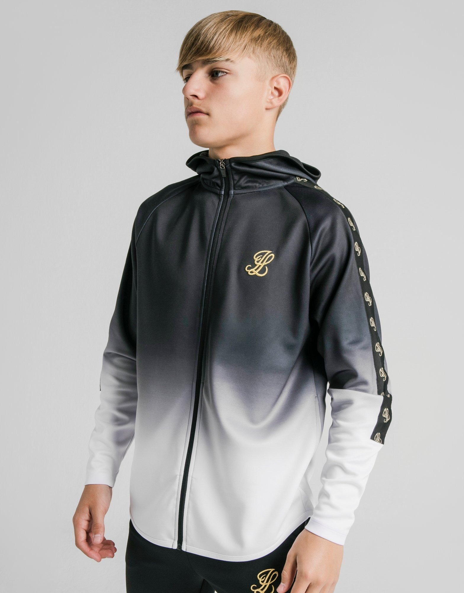 ILLUSIVE LONDON Sweat à capuche Taped Athlete Zippé Junior | JD Sports