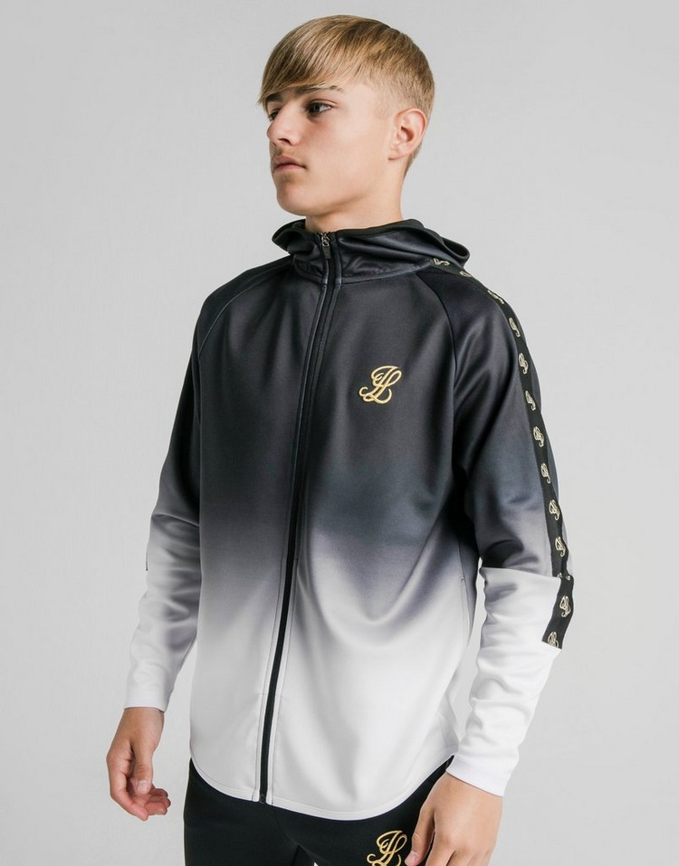 ILLUSIVE LONDON Taped Athlete Full Zip Hoodie Junior