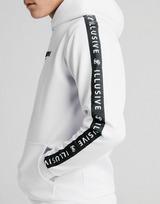 ILLUSIVE LONDON sudadera con capucha Repeat Print Fleece júnior