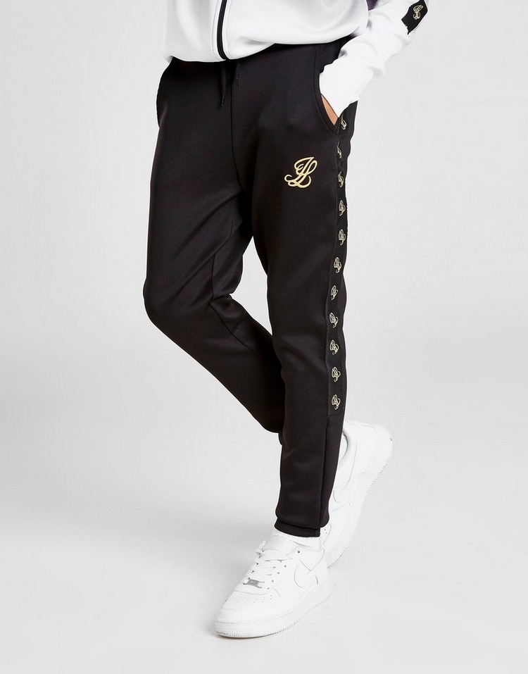 ILLUSIVE LONDON Taped Athletic Poly Track Pants Junior