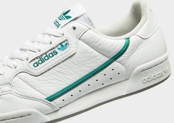 Shoppa adidas Originals Continental 80s Herr i en Vit färg