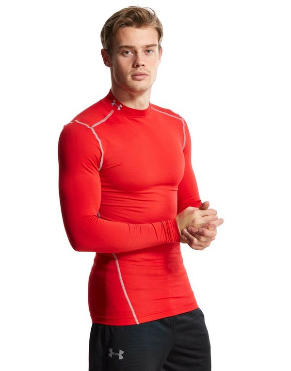 45ea65ffe Under Armour ColdGear Armour Compression Mock Longsleeve | JD Sports