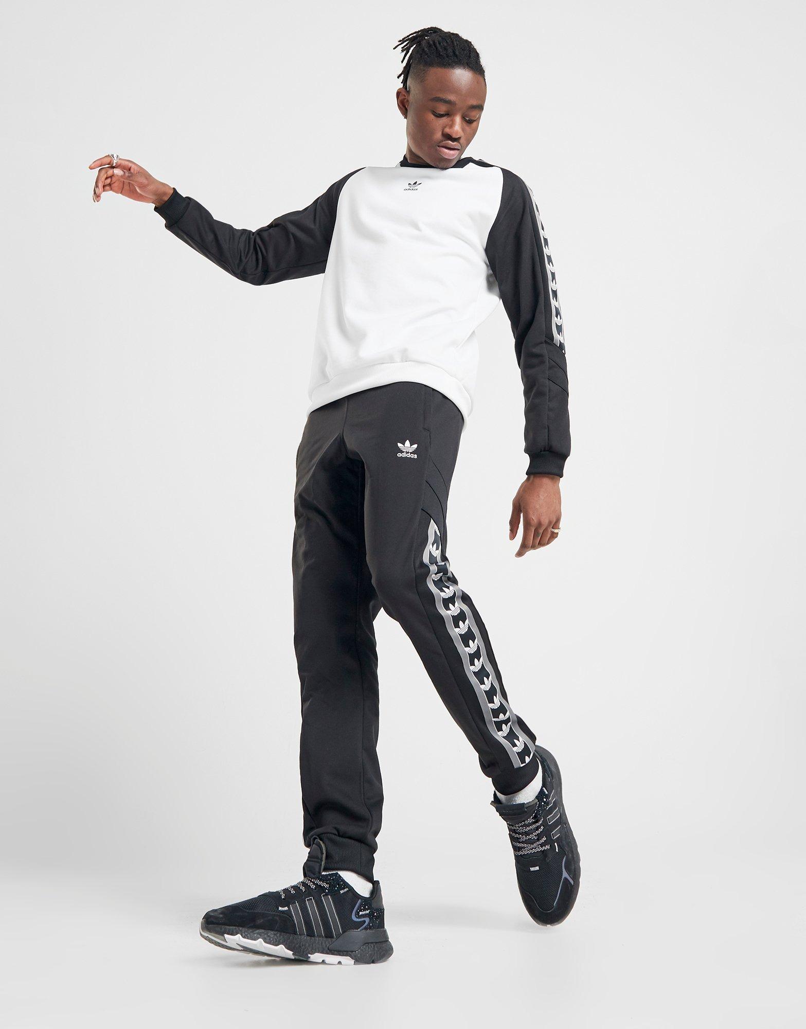 adidas Damen Big Logo Sweat 9 Long Hose