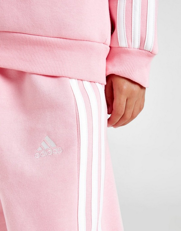 adidas Girls' Badge Of Sport Logo Crew Tracksuit Children