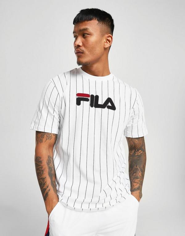 Compra Fila camiseta Santo Stripe en Blanco