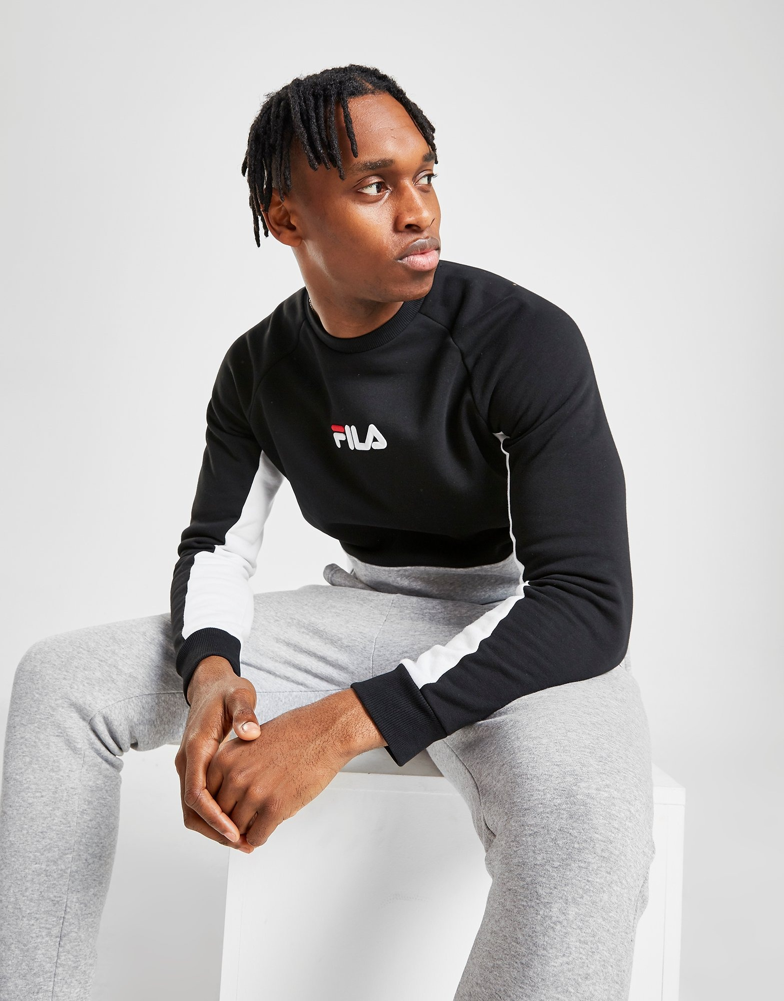 Fila Finch Crew Sweatshirt | JD Sports Sverige