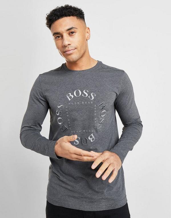 BOSS Togn Long Sleeve Circle T-Shirt
