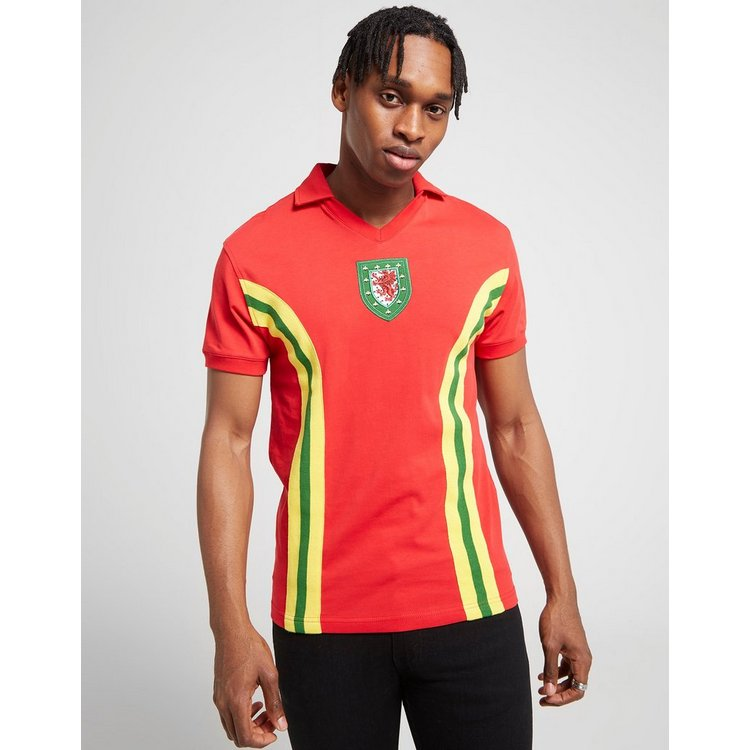 Official Team Wales Home 1976 Shirt Men's
