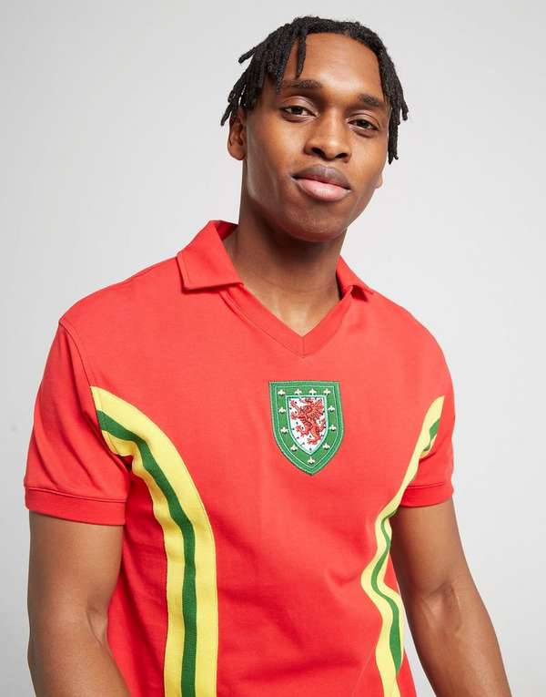 Official Team Wales Home 1976 Shirt