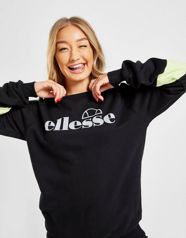 Ellesse Reflective Logo Crew Neck Sweatshirt