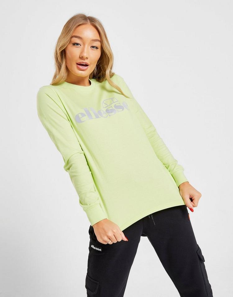 Ellesse Long Sleeve Boyfriend T-Shirt