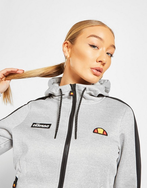 Ellesse Poly Panel Full Zip Hoodie