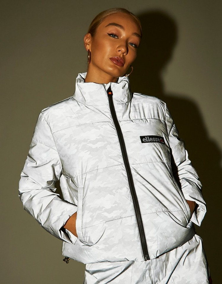 Ellesse Casaco Reflective All Over Print Padded