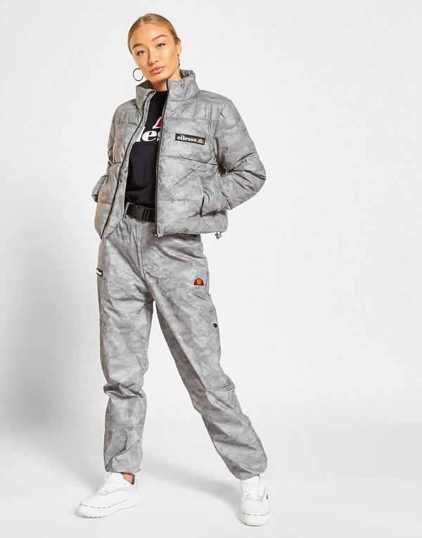 Ellesse Reflective All Over Print Padded Jacket