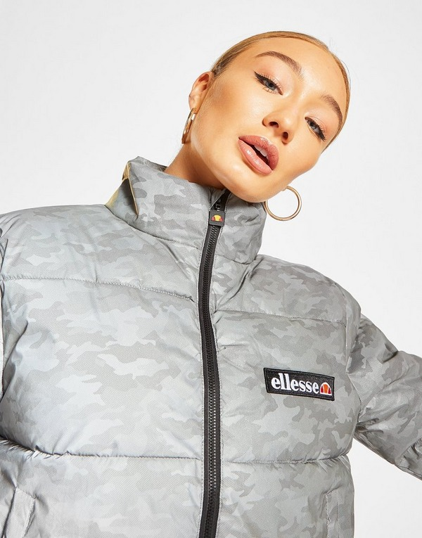 Compra Ellesse chaqueta Reflective All Over Print Padded en