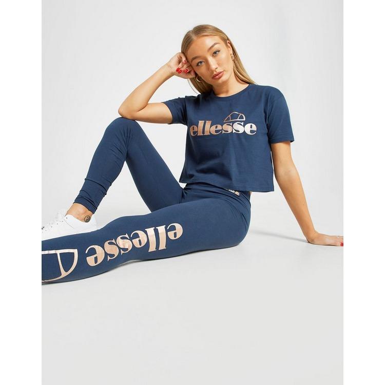 Ellesse camiseta Logo Crop