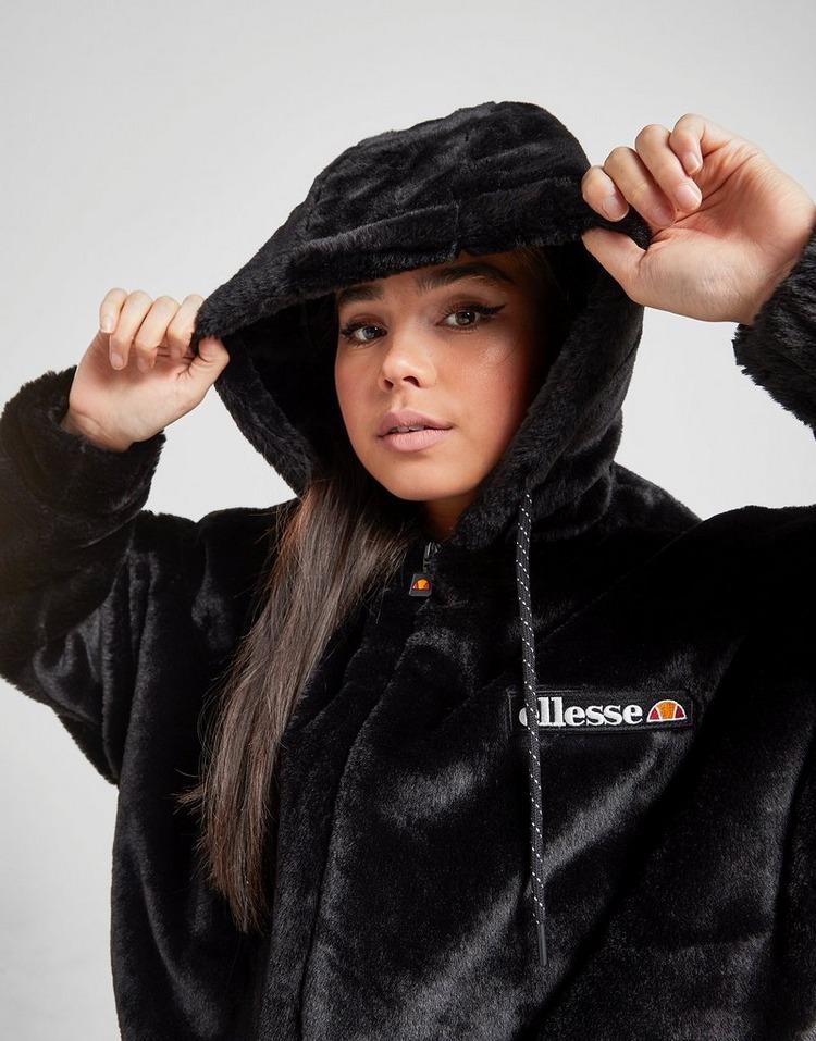 Ellesse Faux Fur Full Zip Hoodie