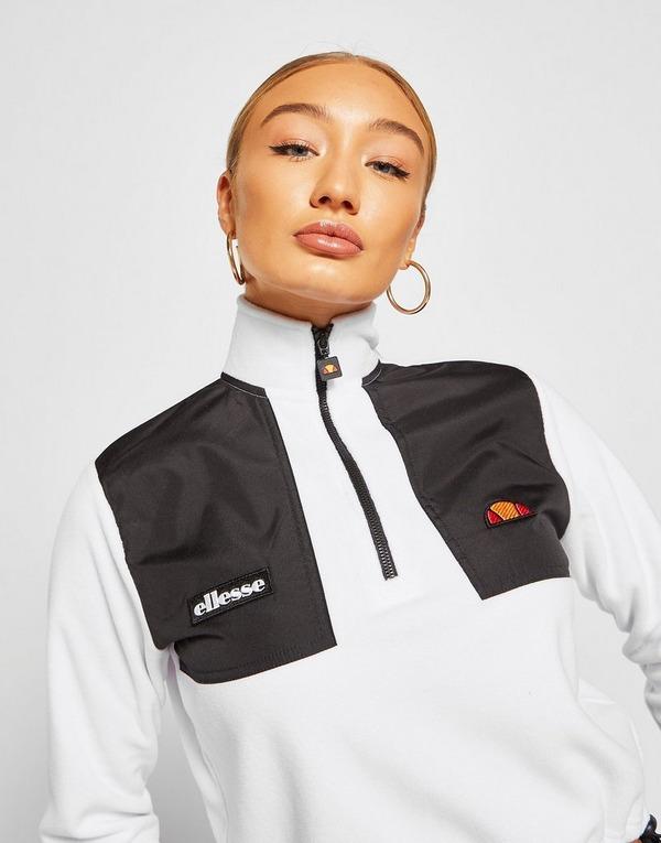Ellesse 1/4 Zip Micro Fleece Sweatshirt