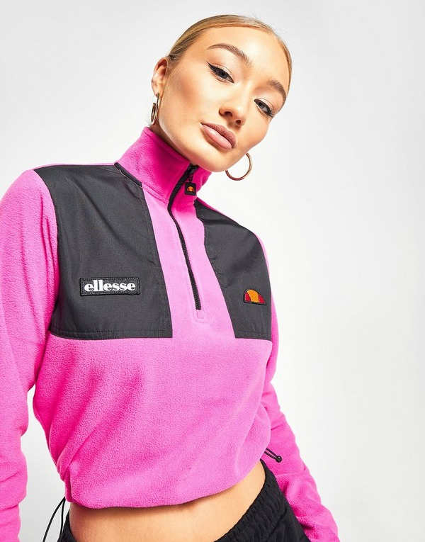 Ellesse 1/4 Zip Micro Fleece Sweatshirt
