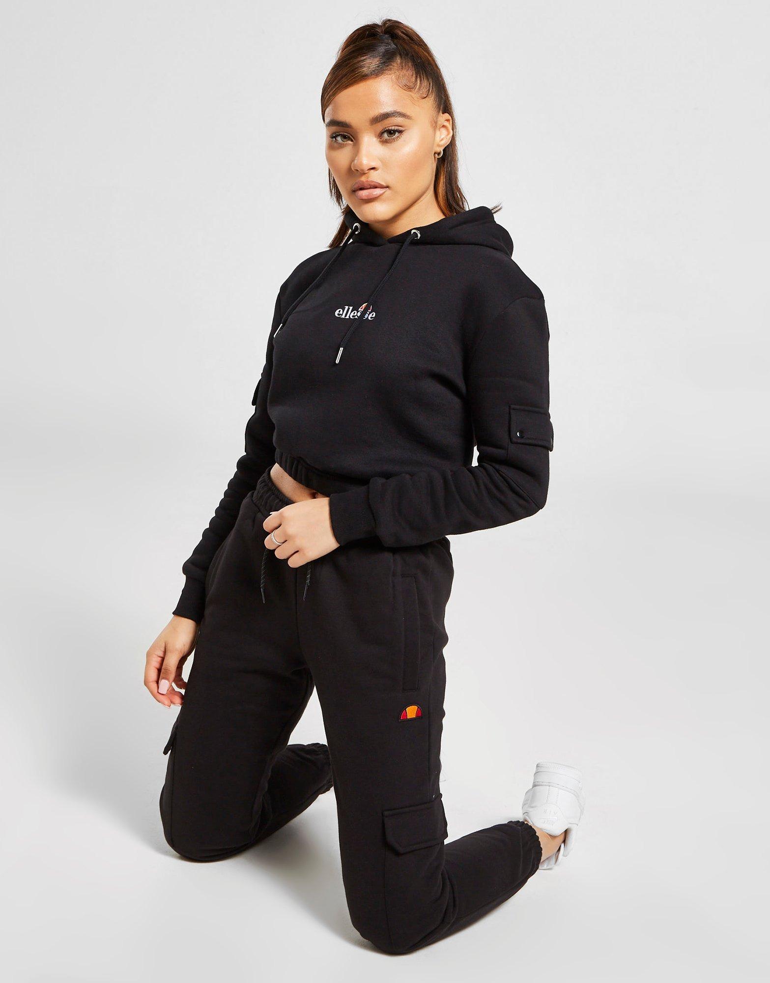 Acheter Gris Ellesse Jogging Cargo Fleece Femme | JD Sports
