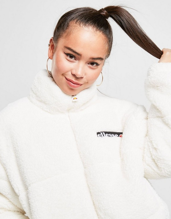 Ellesse chaqueta Sherpa Crop Padded