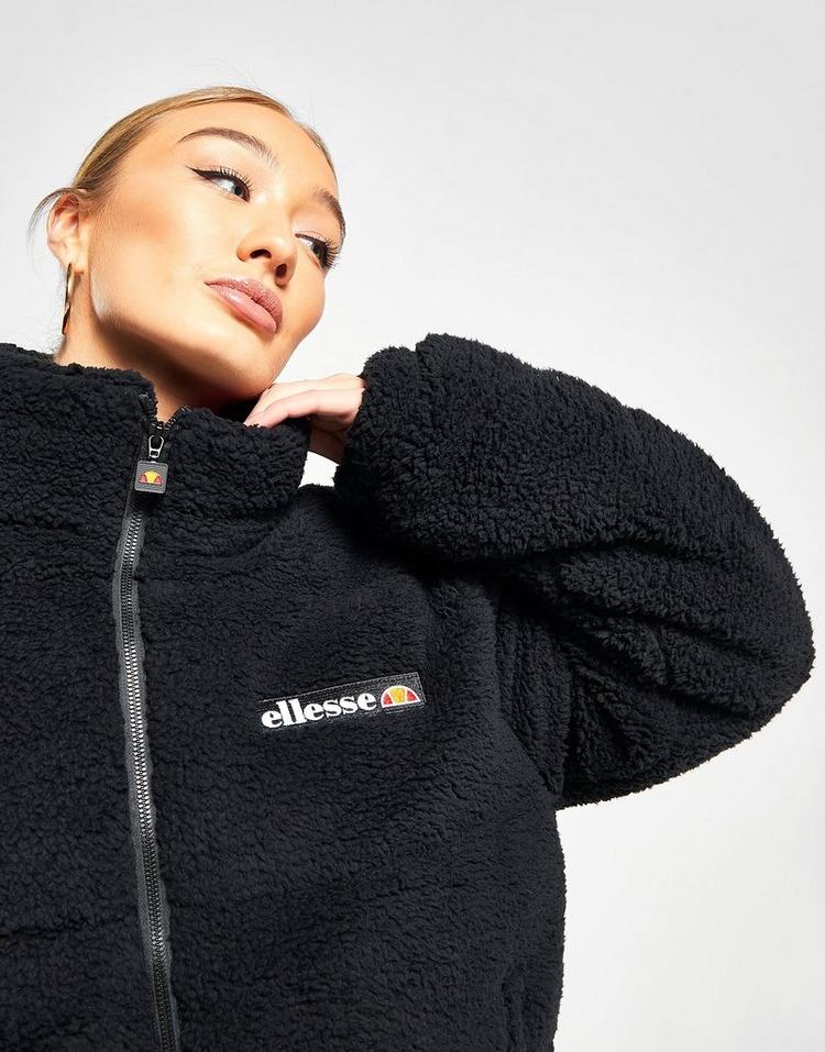 Ellesse Sherpa Crop Padded Jacket
