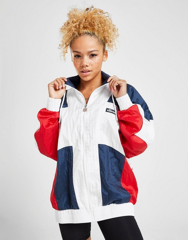 Ellesse Stripe Panel Woven Track Top