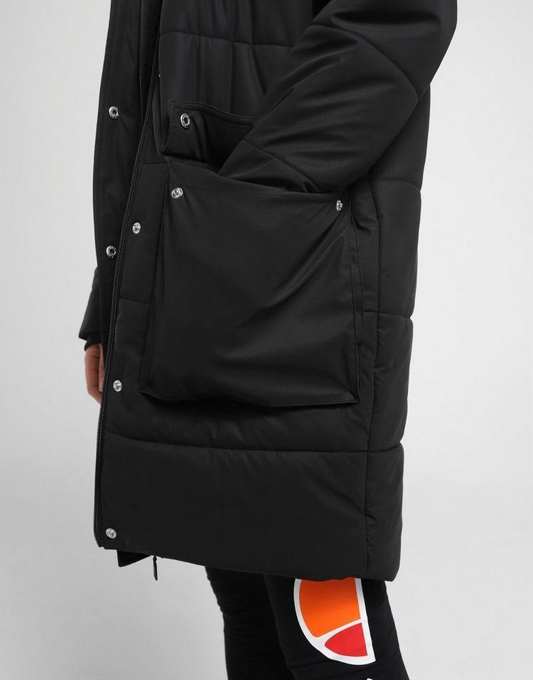 Ellesse Mid Fur Padded Parka Jacket