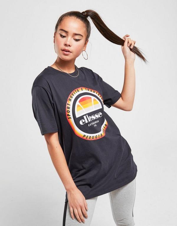 Ellesse Retro Logo Boyfriend T-Shirt