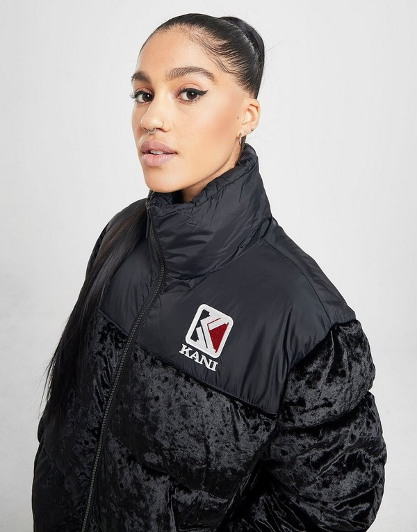 Karl Kani Velvet Puffa Jacket