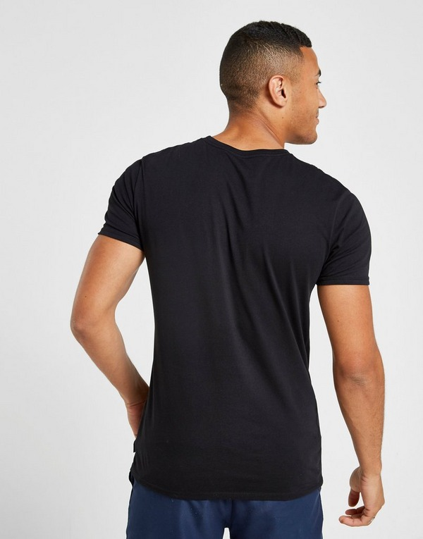 Quiksilver Spiral Front Print T-Shirt
