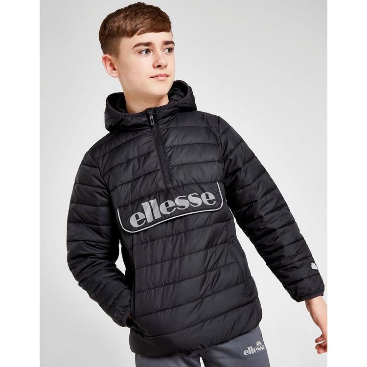 Ellesse Zilta Padded 1/4 Zip Jacket Junior