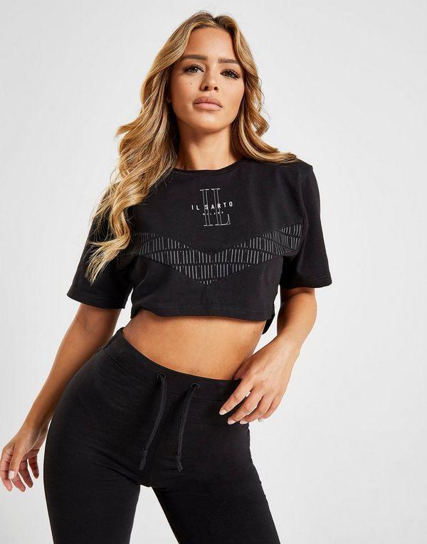 Il Sarto Panel Crop T-Shirt