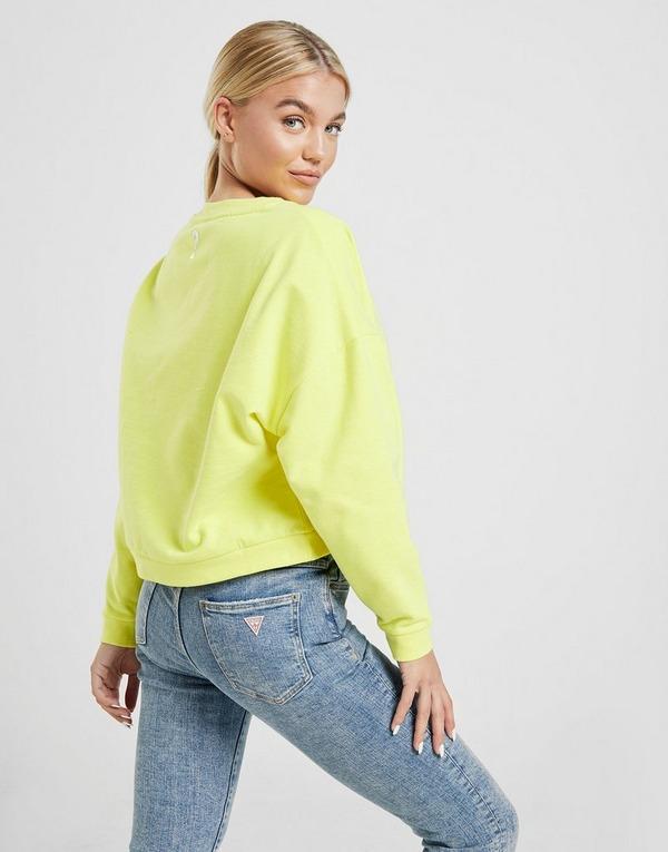Guess Sweat-shirt Neon Crew Femme