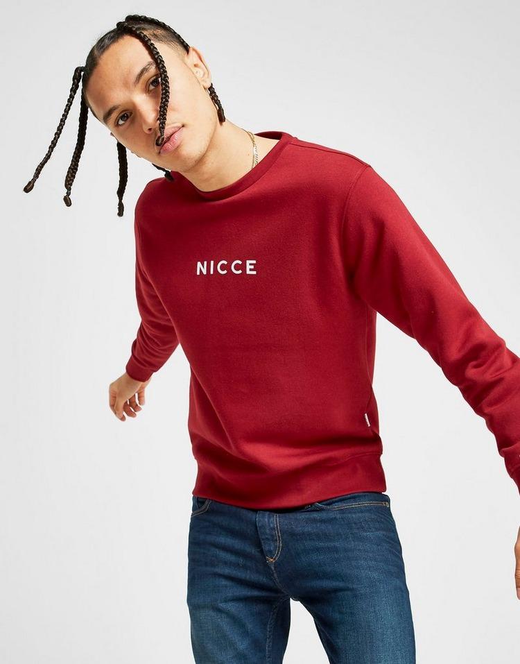 Nicce Centre Logo Crew Sweatshirt