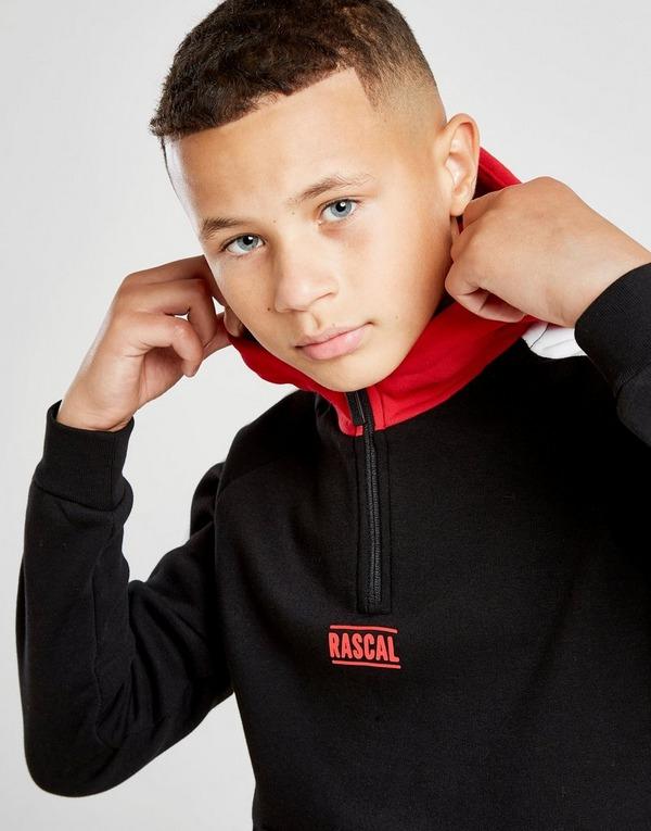 Rascal Neman Colour Block Fleece Hoodie Junior
