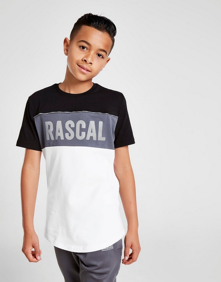 Rascal camiseta Acronym Colour Block júnior